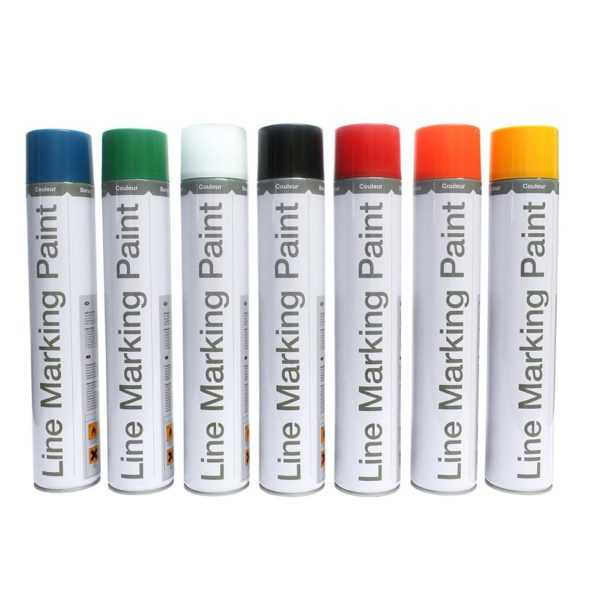 Range of Temporary spray paints