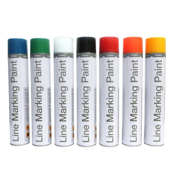 Range of Semi-Permanent spray paints