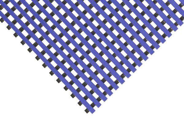 Blue Rib Deck mat on a white background